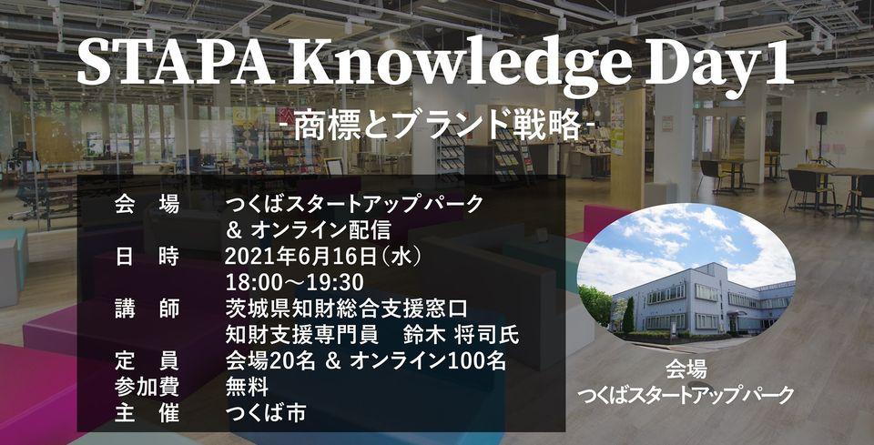 STAPA Knowledge Day1 -商標とブランド戦略-
